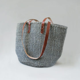 Grey-sisal-tote-dark-leather
