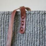 Grey-sisal-tote-dark-leather-detail