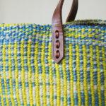 Yellow-sisal-shopping-tote-detail